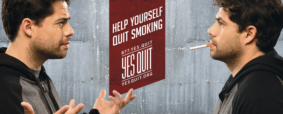 Help yourself quit smoking.